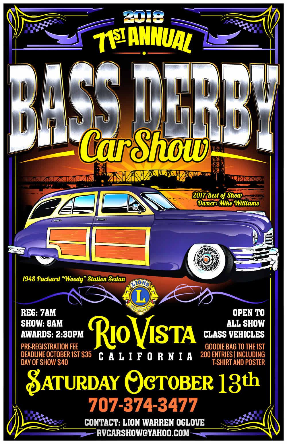 Car Show Rio Vista Bass Festival And Derby - Bait car show